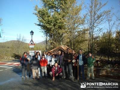 Prádena del Rincón- Sierra de Madrid; viajes senderismo; senderismo organizado